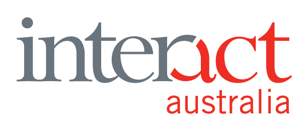 Interact Australia logo | About Work & Training